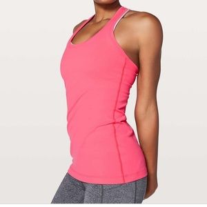Lululemon cool racer back tank Nulu